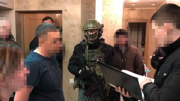 Затримання поплічника терористів у Харкові
