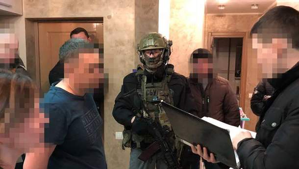 Задержание пособника террористов в Харькове