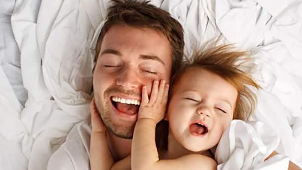 Дети, похожие на своих отцов, имеют более крепкое здоровье