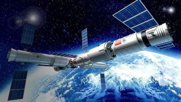 "Китайська космічна станція ""Тяньгун-1"" падає на Землю"