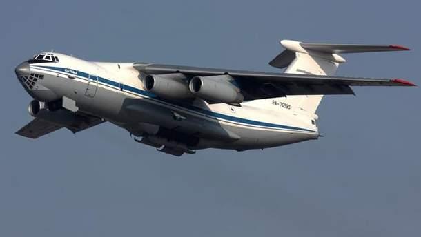 Російський Іл-76 порушив повітряний простір Естонії
