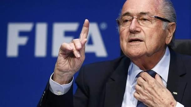 Блаттер исключил возможность переноса футбольного ЧМ-2018 из России в другую страну