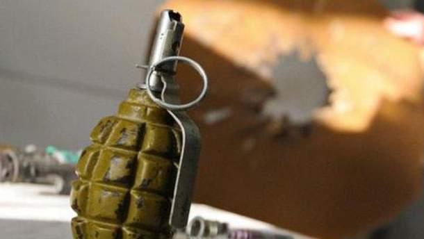 Бойовик використав гранату