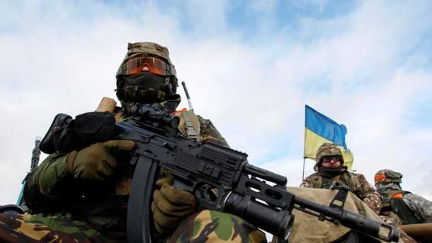 Боевики снова обстреляли позиции ВСУ, двое украинских воинов ранены