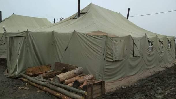 Из-за пожара в палаточном городке погиб военный / Иллюстративное фото