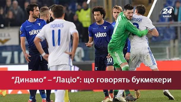 Динамо – Лацио: прогноз букмекеров на матч Лиги Европы 2017/18