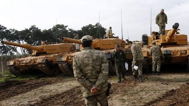 Турецкие войска в Африне