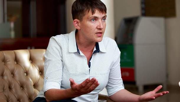 Надія Савченко не присутня на засідання ПАРЄ