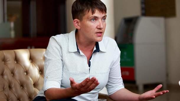 Надежда Савченко не присутствовала на заседании ПАСЕ