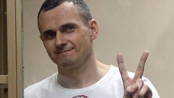 """Олег Сенцов """"готовий написати"""" прохання про помилування у Росії"""
