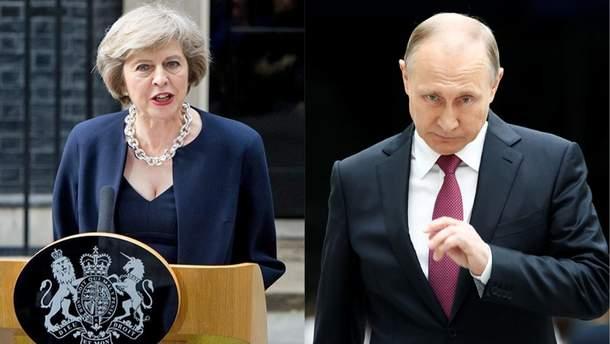 Скандал между Россией и Британией