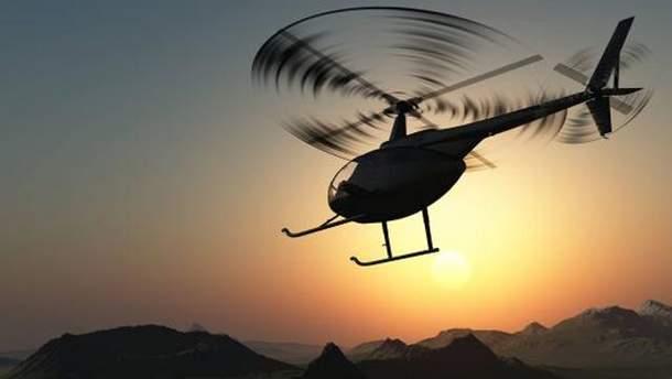 Во Франции разбился вертолет