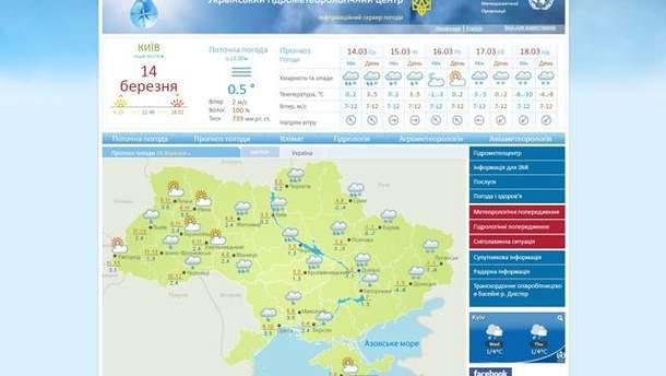 На майнинге криптовалюты поймали сайт Укргидрометцентра