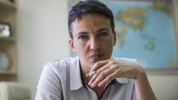 Надежда Савченко в Испании