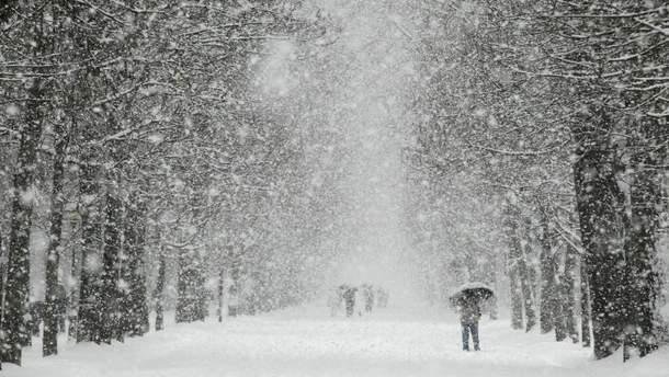 Непогода в Украине 17-19 марта