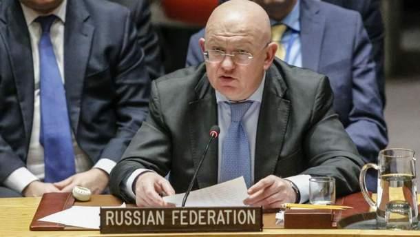 Поспред Росії при ООН пригрозив відповіддю на ультиматум Британії
