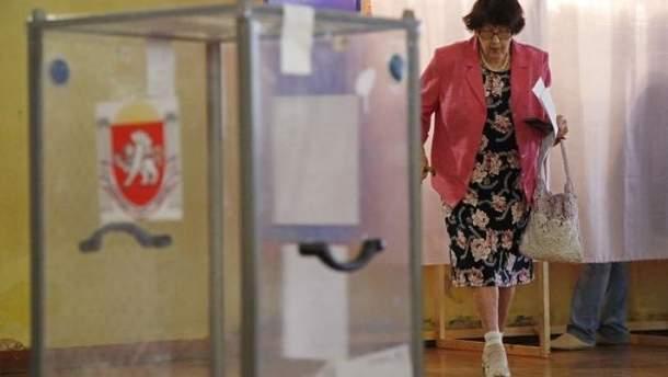 Выборы в оккупированном Крыму