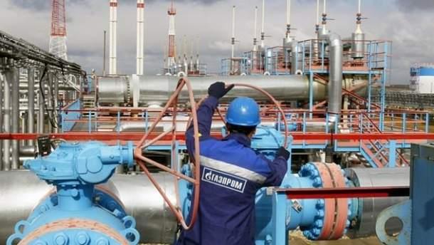 """Газпром"""" підняв тиск газу на вході до ГТС України до належного рівня"""