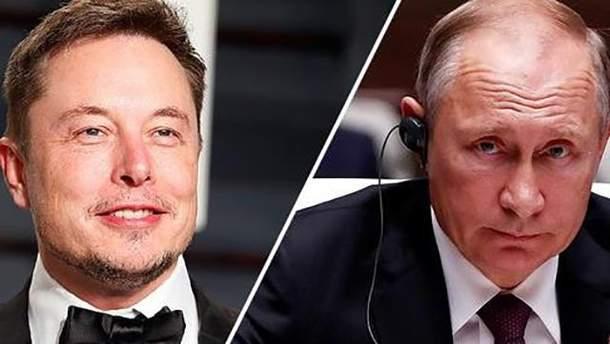 """Путин решил """"потягаться"""" с Илоном Маском"""