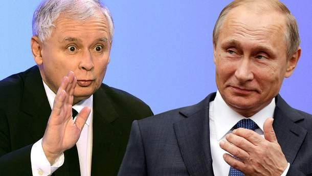 """Путин может предложить Качинскому """"перезагрузку"""" польско-российских отношений"""