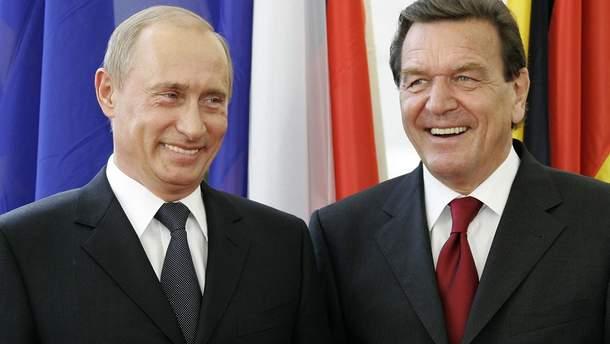 Экс-канцлер Германии Шредер рассказал детали о детстве Путина