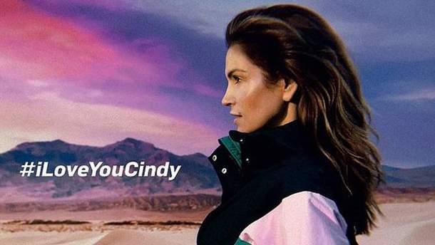 Синди Кроуфорд в рекламе Reserved