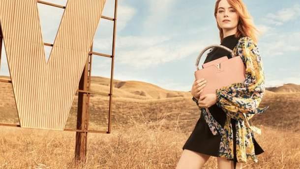 Эмма Стоун для Louis Vuitton