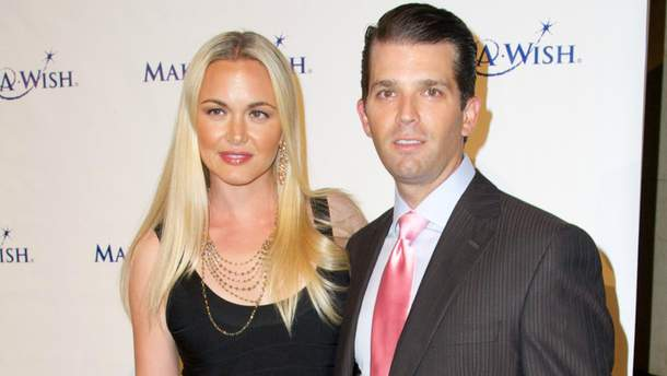 Дональд Трамп-младший и Ванесса