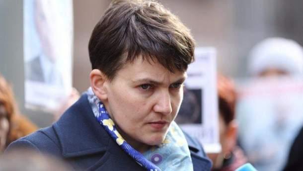 Савченко звинуватила українську владу в війні на Донбасі