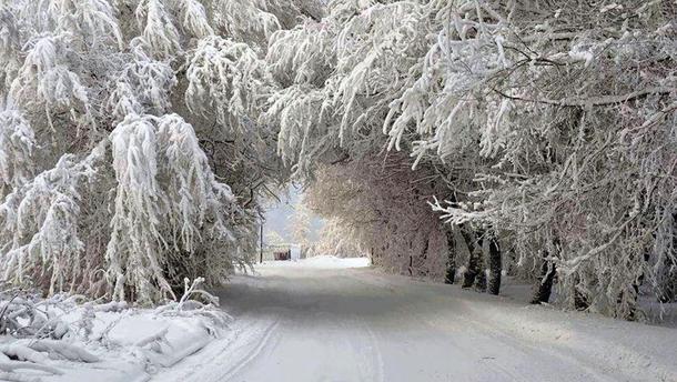 Погода в Україні 18 березня буде сніжною і морозяно