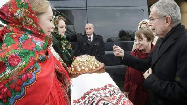 Федеральный президент Александр Ван дер Беллен посетил Львов.