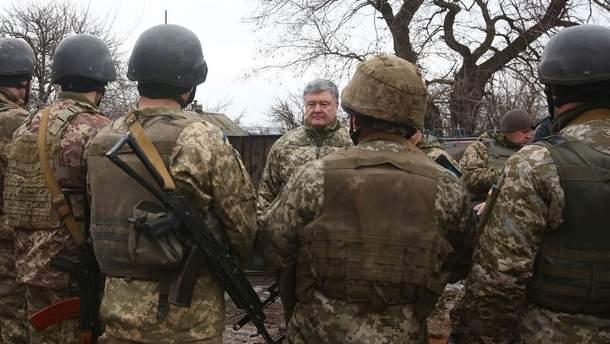 Порошенко процитировал послание Великобритании России