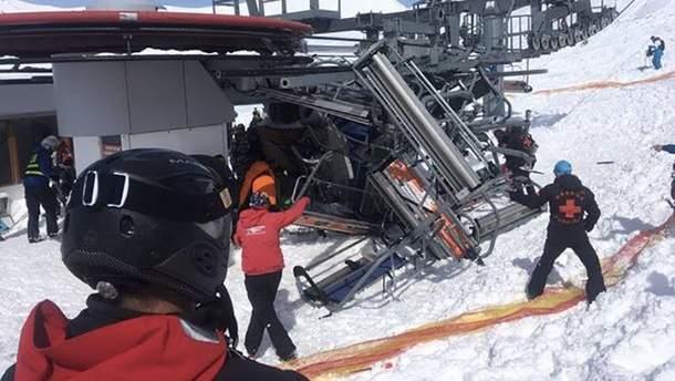 З'явилися деталі страшних наслідків аварії підйомника на курорті у Грузії