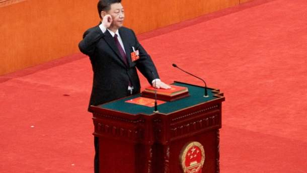 Си Цзиньпин переизбран лидером Китая