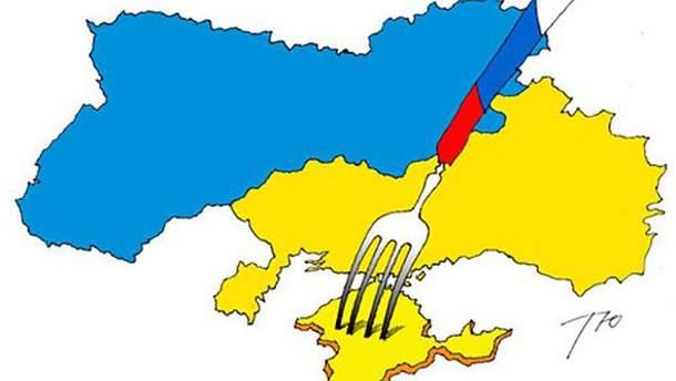 Известный украинский канал оконфузился картой без Крыма