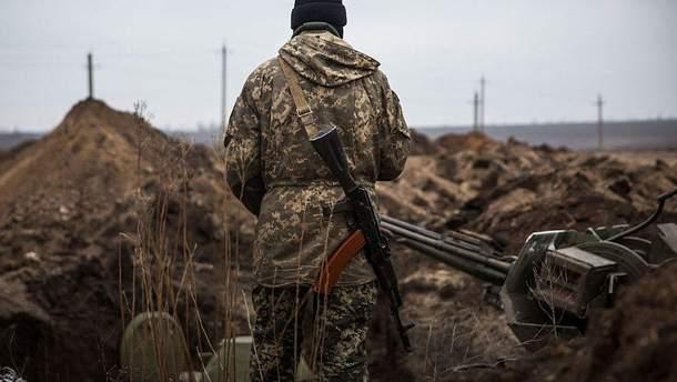 Тишина на Донбассе