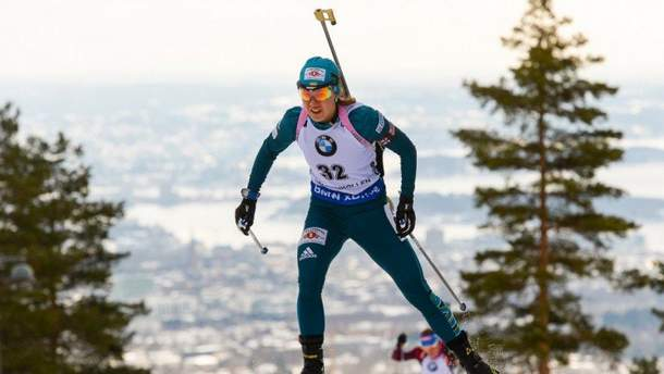 Біатлон: українка Джима стала п'ятою у жіночій гонці етапу Кубка світу