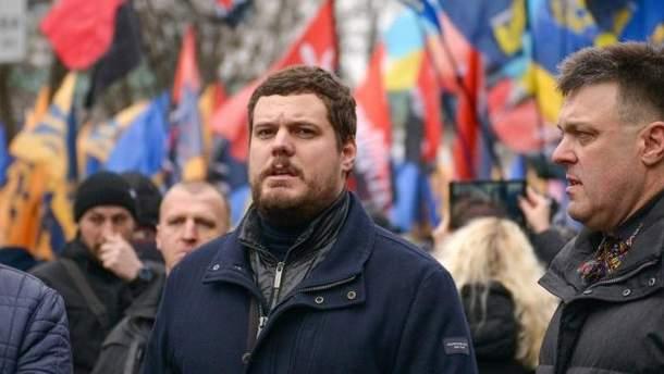 Националисты сорвали выборы Путина в Украине