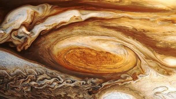 Буря на Юпитере