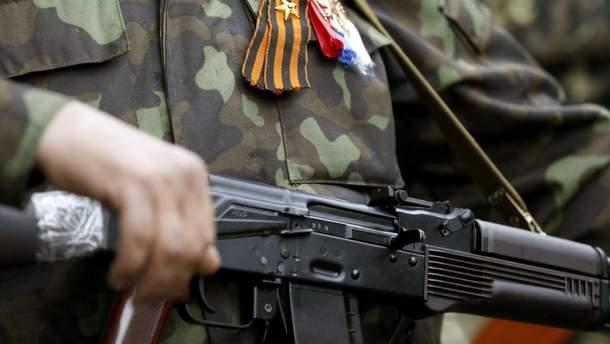 У кишені терориста вибухнула граната, п'ятеро бойовиків постраждали