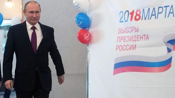 У Путина довольны результатами выборов