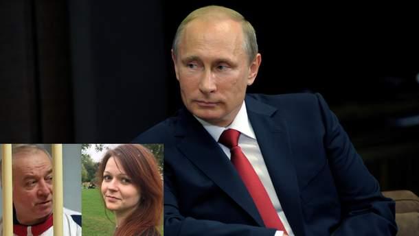 Володимир Путін прокоментував отруєння Сергія Скрипаля