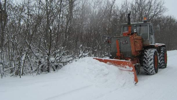 Негода в Україні: яка ситуація на дорогах 19 березня