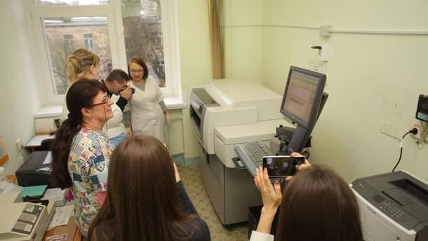 Аппарат для определения химиопрепаратов в крови
