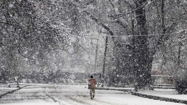 Непогода в Украине 19-20 марта