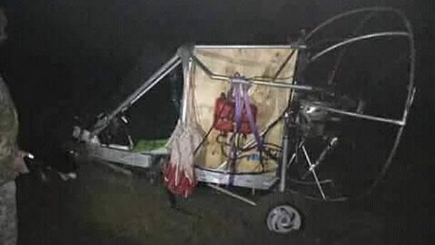 На Львівщині впав саморобний літальний апарат, що перевозив контрабанду