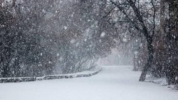 Погода 20 марта в Украине: снегопады и мороз