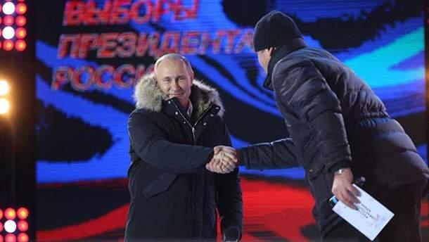 Володимира Путіна вже вітають навіть президенти інших держав