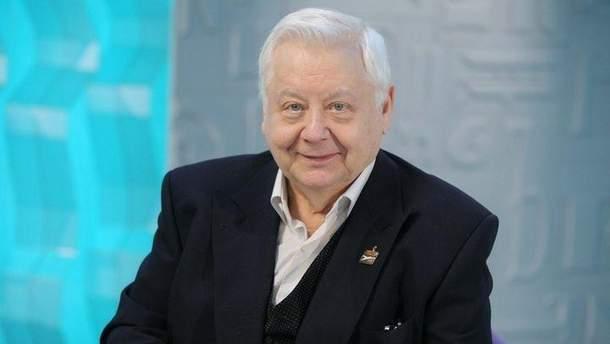 """""""Інтер"""" потрапив у скандал через вшанування Табакова"""