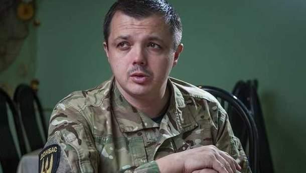 Семенченко допрашивают в ГПУ